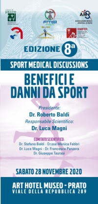 BENEFICI E DANNI DA SPORT - 8° EDIZIONE - SPORT MEDICAL DISCUSSIONS