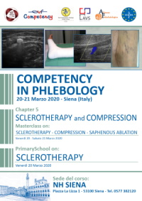 Copertina Competency in Phlebology Siena
